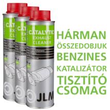 JLM Benzines Katalizátoros Kipufogórendszer Tisztító Csomag