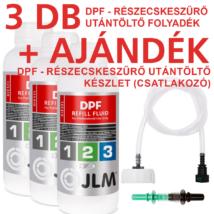 JLM Dízel DPF Utántöltő Folyadék csomag (3X1000ml)